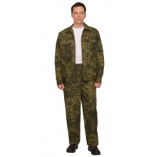 "Костюм ""СИРИУС-Рысь"" куртка, брюки (тк. Рип-стоп 210) КМФ Цифра зеленая"