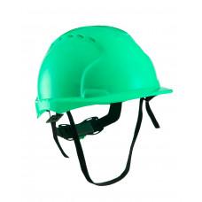 Каска РИМ ЭТАЛОН с храповиком зеленая (х10)