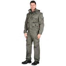 """Костюм """"СИРИУС-Тигр"""" куртка, брюки (тк. Rodos 245) Оливковый"""