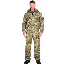 """Костюм """"СИРИУС-Тигр"""" куртка, брюки (тк. Рип-стоп 210) КМФ Мультикам"""