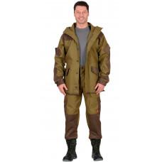 "Костюм ""СИРИУС-Горка"" куртка, брюки (п-но палаточн.+отделка тк.Кроун) Хаки"