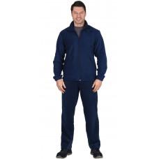 Куртка флисовая темно-синяя