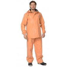 Костюм РЫБАК: куртка, полукомбинезон (тк. 1045) оранжевый