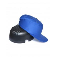 Каскетка-бейсболка защитная синяя