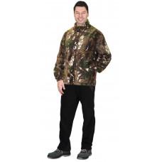 Куртка флисовая КМФ Темный лес