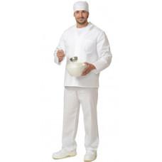 Костюм повара мужской белый