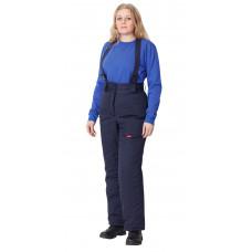Брюки женские на утепляющей подкладке (тк.антиэлектростатическая Премьер-комфорт 250А)