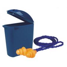 Беруши многоразовые 3М 1271 со шнурком, инд.пластик.контейнер (кратно х10 х50 х250)
