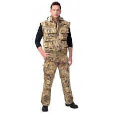 """Костюм """"СИРИУС-Тигр"""" куртка, брюки (тк. Орион 210) КМФ Саванна"""