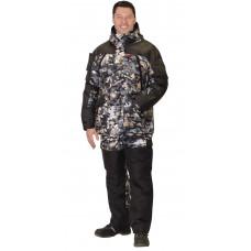 "Костюм ""Сириус-Тундра"" зимний: куртка, п/комб (тк. Алова) КМФ Полигон"