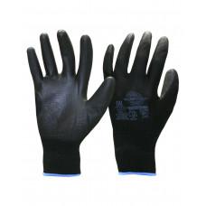 """Перчатки """"Нейп Пол-Ч"""" (нейлон с полиуретаном, цвет черный) р.  7,8,9,10, в уп.600пар"""