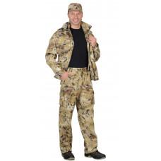 """Костюм """"СИРИУС-Пума"""" куртка, брюки (тк. Грета 210) КМФ Саванна"""