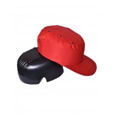 Каскетка-бейсболка защитная красная
