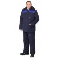 Куртка мужская на утепляющей подкладке (тк.антиэлектростатическая Премьер-комфорт 250А)