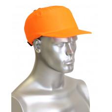 Каскетка-бейсболка защитная оранжевая (шт)
