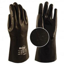 """Перчатки """"Неофлекс"""",  NP-T-18 ( неопрен гладкий на трик.основе,длина 350 мм., толщина 2,1 мм)"""