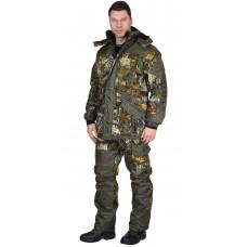 """Костюм """"СИРИУС-ГОРКА"""" зимний: куртка дл., брюки (тк.CROWN-230) КМФ"""