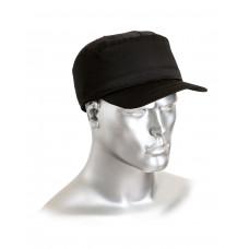 Каскетка-бейсболка защитная черная (шт)