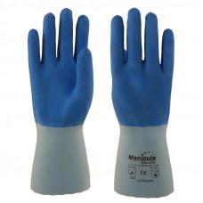 """Перчатки  """"Рефлекс"""" L-T-16, латексные, толщина 1,4мм, длина 300мм, интерлок"""