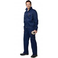 """Костюм """"СИРИУС-Плутон"""" куртка, брюки т.синий"""