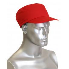 Каскетка-бейсболка защитная красная (шт)