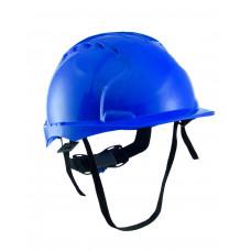 Каска РИМ ЭТАЛОН с храповиком синяя (х10)