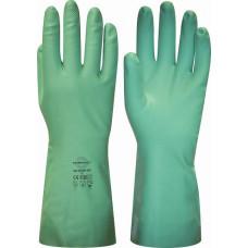 """Перчатки """"МЕТЕОР-SP"""" , нитрил, хлопковый слой, толщ.0,38мм, дл.330мм."""