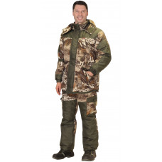 "Костюм ""СИРИУС-ГОРКА"" зимний: куртка дл., брюки (тк.CROWN-230) КМФ ""Серый мох"""
