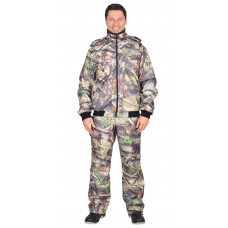 "Костюм ""СИРИУС-Пикник"" демисезон.: куртка, брюки (тк. Оксфорд) КМФ Темный лес"
