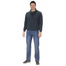 Брюки джинсовые светло-синий